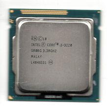 CORE i3-3220 ivy bridge INTEL 3,3ghz socket 1155