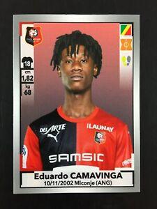 Eduardo Camavinga Rookie Sticker Second Edition Panini 424 Foot 2019 2020 19-20