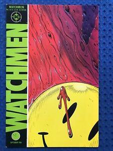 Watchmen #1  DC Comics 1986  1st printing  Alan Moore, Dave Gibbons