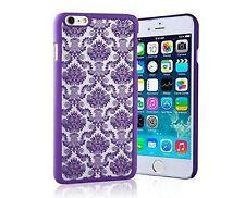 Housses et coques anti-chocs violet transparent pour téléphone mobile et assistant personnel (PDA) Apple