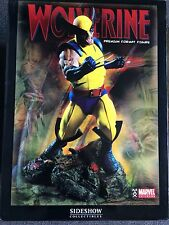 Wolverine Premium Format Statue Sideshow Collectibles 482/1000