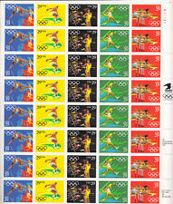 SCOTT #2553-57   SHEET SUMMER  OLYMPICS  29 CENT  F/V $11.60    MNH
