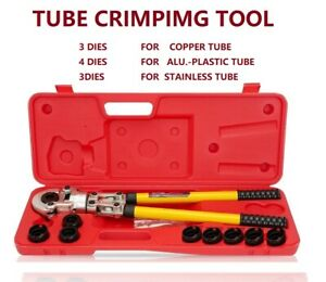 copper Pex-Al-Pex stainless Pipe Crimper tube B Press Plumbing Fitting Crimping
