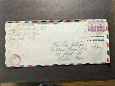 NAVY #231 Oran, Algeria, North Africa 1943 Censored WWII Naval Cover