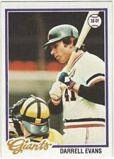 DARRELL EVANS 1978 Topps #215 NM-MT MLB San Francisco Giants