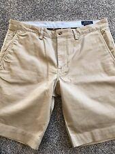 Mens Polo Ralph Lauren Bedford Shorts Beige 34 Waist Slim Fit