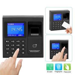 2.4/'/'RFID Fingerprint Zeiterfassung Fingerabdruck Arbeitszeiterfassung Wiegand26
