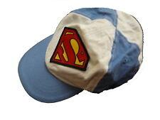 H & M tolle Schirm Mütze Gr. 68 blau mit Superman Motiv !