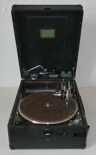 Rare phonographe gramophone electrique «Electrola Wilhelm Gertz» à restaurer