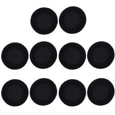 10pc 35/40/45/50/55/60mm Foam Ear Pad Sponge Cover For Earphone Headset Black #Z