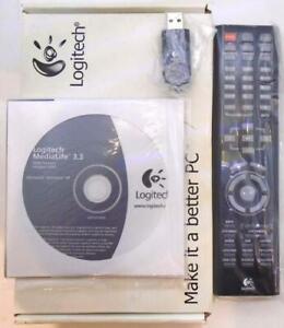 Neuf Véritable Logitech R-RC6 Ultrax Média PC Télécommande P/N:866147-0000