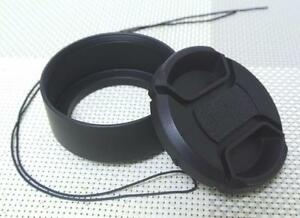 39 mm Metal Camera Lens Hood + 46 mm Cap for Standard Lens 39SC46