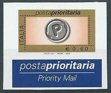 2004 ITALIA VARIETà PRIORITARIO 0,60 MNH ** - RR3693-1