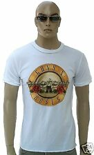 Amplified Official Guns N' Roses Drum Logo Rock Star Vintage Vip T-Shirt G . S