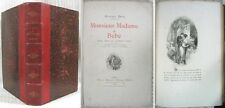 Monsieur, Madame et Bébé / Gustave DROZ / Illustrations Ed. Morin / Havard 1878