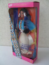 barbie native american second special edition dolls world NRFB 1993 dotw 11609