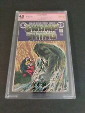 Swamp Thing 1 Signed Bernie Wrightson