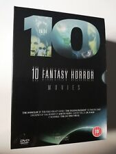 10 Fantasy Horror Movies DVD New/sealed - Earth Alien, Ghost Rig 2 -  B-Movies
