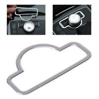 Bedieneinheit Schalterknopf Rahmen für Mercedes Benz W204 W212 W218 Alu Blende