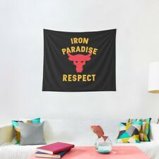 RESPECT Iron Paradise Tapestries, Iron Paradise Wall Tapestry