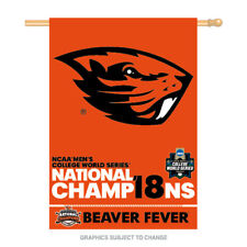2018 National Champions Oregon State Beavers Beaver Fever 28x40 Banner