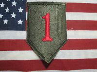 US ARMY VIETNAM ERA 1ST INFANTRY DIVISION COLOR SSI PATCH C/E ORIGINAL