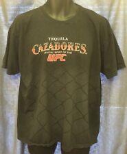 TEQUILA CAZADORES OFFICIAL SPIRIT OF THE UFC BLACK MEN'S XL SHORT SLEEVE T-SHIRT