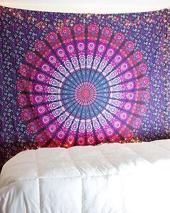 Bohème Mandala Tenture Tapisserie Tapis de Plage Hippie Murale Couvre-lit Boho