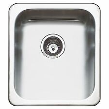 Abey Hunter LAUNDRY TROUGH SINK 30L Stainless Steel- 466X20X406mm *Aust Made