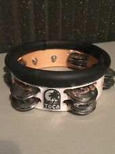 """Toca Jingle Hit 6"""" Tambourine Barely Used Excellent Condition"""