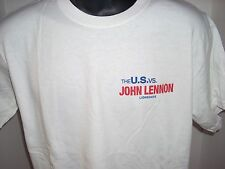 U.S VERSUS JOHN LENNON T SHIRT NEVER USED OR WORN LARGE
