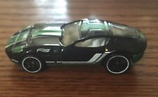Hotwheels Ford Shelby GR-1 Concept Car Black Green Stripe