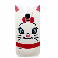 Cute 3D Cartoon Silicone Case Cover for Samsung Galaxy S3 S4 Mini S5 Note 2 3 4