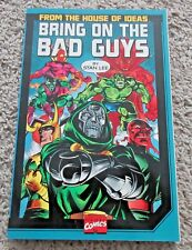 MARVEL BRING ON THE BAD GUYS TPB FROM THE HOUSE OF IDEAS STAN LEE VILLAINS