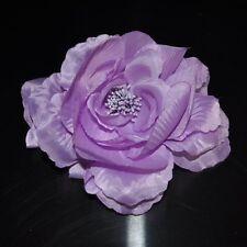 PIVOINE VIOLET FLEUR SOIE Rose broche épingle Fascinator Parure pour cheveux
