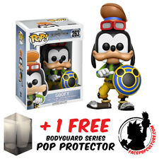 FUNKO POP DISNEY KINGDOM OF HEARTS GOOFY VINYL FIGURE + FREE POP PROTECTOR