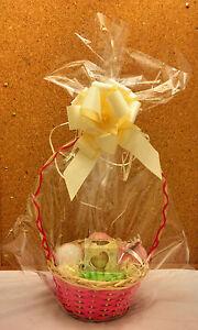 Clear Cellophane Basket, Hamper & Teddy Bear Bags - 2 x bags - Size 56 x 76cm