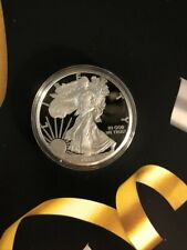2020-W Silver Eagle 1 Oz Proof Dollar Coin West Point Congratulations Set