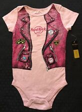Baby One Piece 12 Months Pink Hard Rock Hotel Cafe Bali Born 2 To Rock