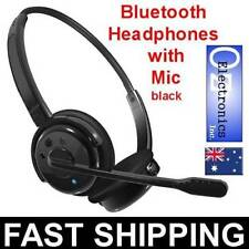 Headband Fit Double Mobile Phone Headsets with Volume Control
