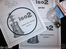 Thai Power Iso2 Oil Extractor Manuals with Replacement 116 watt bulb and O-Ring