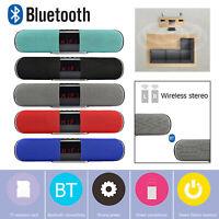 Tws Bluetooth Lautsprecher Dual Horn 10W Subwoofer Stereo Heim Musik Spieler Fm