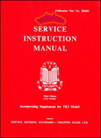 TR3 TRIUMPH TR2 SHOP MANUAL TR3A SERVICE REPAIR BOOK WORKSHOP INSTRUCTION