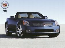 2004 Cadillac XLR, Front angle, BLUE, Refrigerator Magnet, 40 MIL
