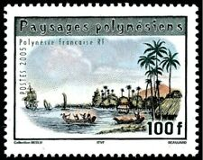 2005 POLYNESIE N°759** Bateaux Voiliers ... 2005 French Polynesia Sail Boats MNH