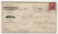 1904 Heinz Pickles cover used from Bangor ME #301 [y2183]