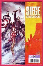 SIEGE EMBEDDED #4, NM-NM+, Marvel, 2010