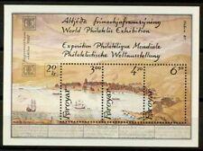 Isole Faroe 1986 SG MS136 Foglietto 100% ** Hafnia 87, mostra filatelica