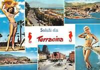 Cartolina Terracina Pin Up Vedutine