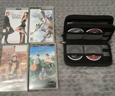 PSP UMD Video Lot Of 4 Movies & lot of 4 Games